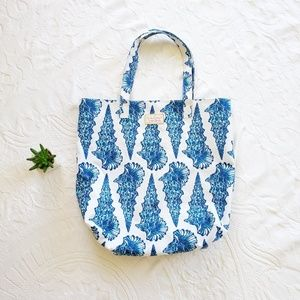 [Lilly Pulitzer for Estee Lauder] seashell tote